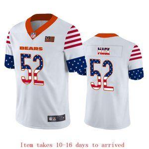 Bears #34 Walter Payton USA Flag Jersey